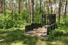 Mass grave site between Zolochiv and Sasiv