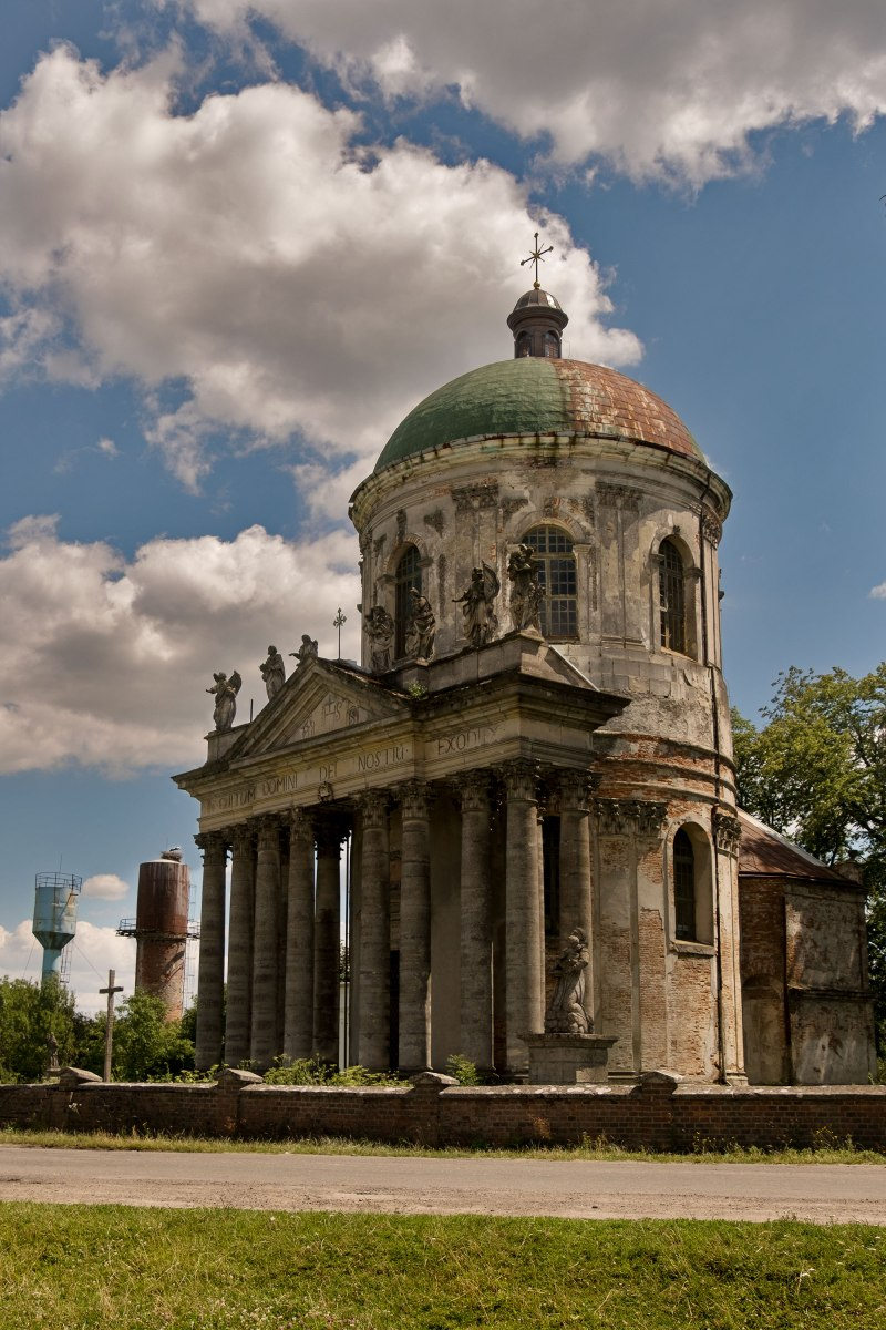 Church of Pidhirtsi castle