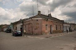 Stryi - former Jewish quarter