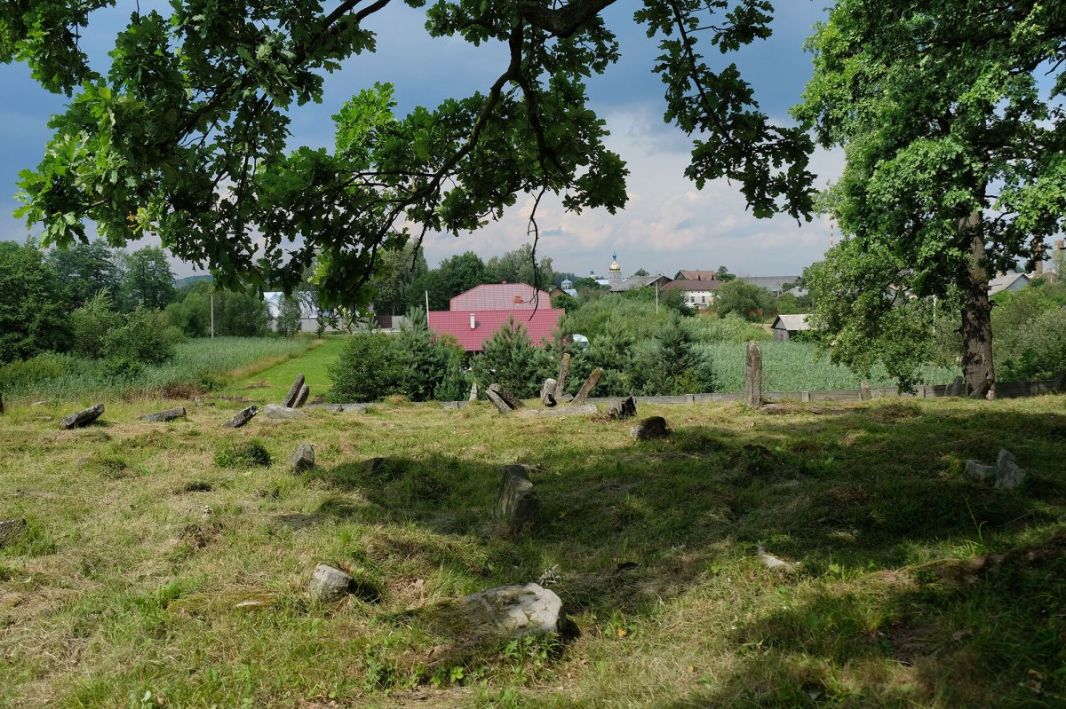 Bolekhiv Jewish cemetery