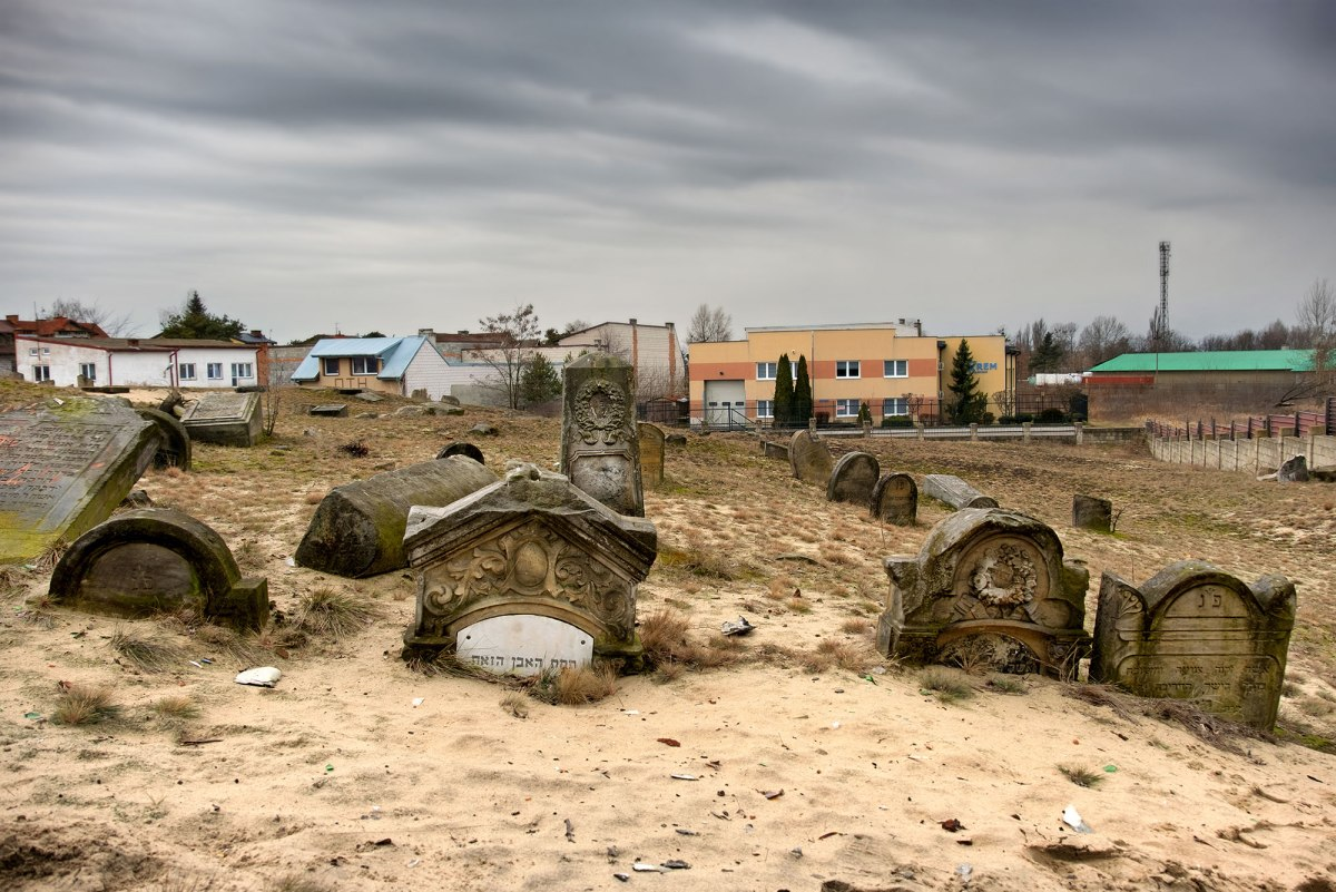 Karczew Jewish cemetery, Poland