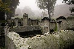 Krakow Jewish cemetery next to Remuh Synagogue, Poland