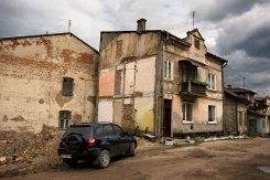 Pidhaitsi Jewish quarter, Ukraine