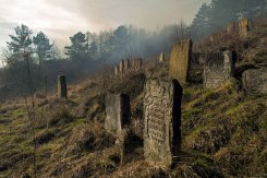 Staryi Sambir Jewish cemetery, Ukraine