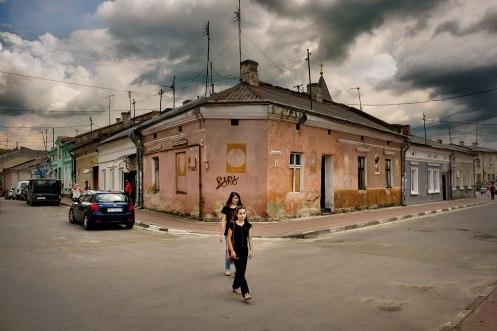 Stryi, former Jewish quarter, Ukraine