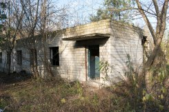 Janowska concentration camp site - building from the Soviet era