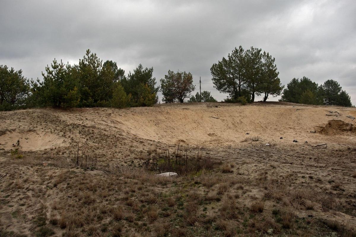Slavuta - mass killing site