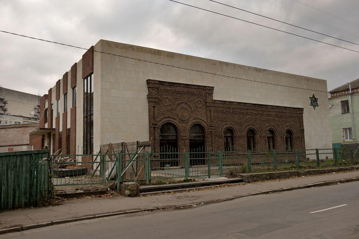 Zhytomyr - renewed prayer house of peddlers