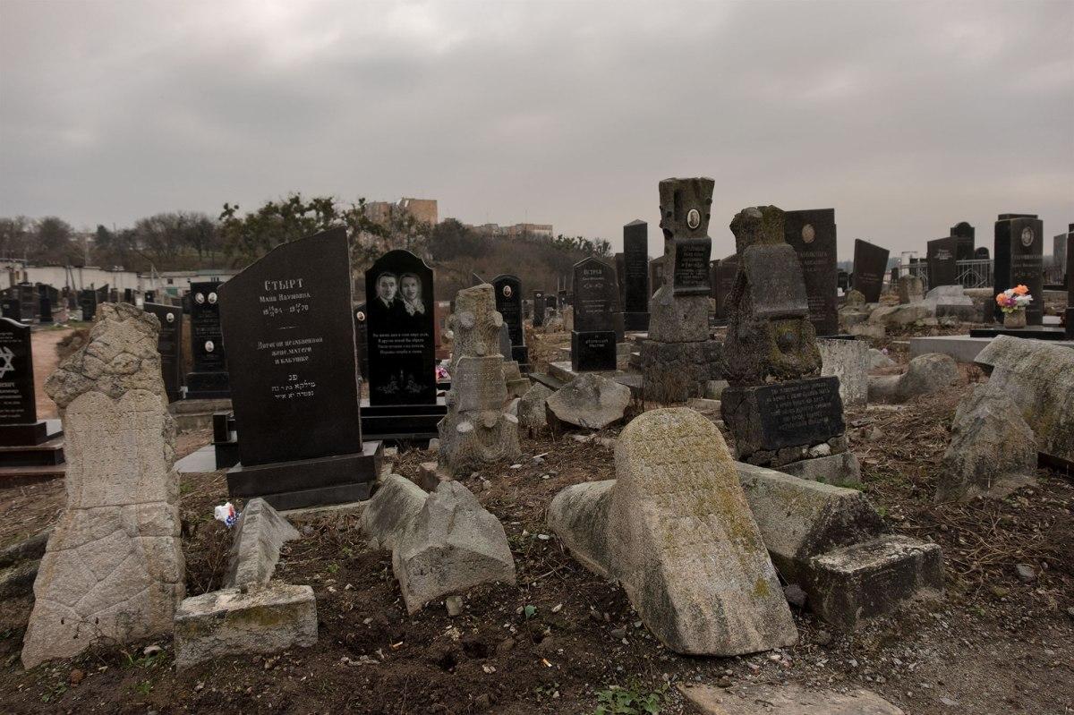 Zhytomyr - Jewish cemetery