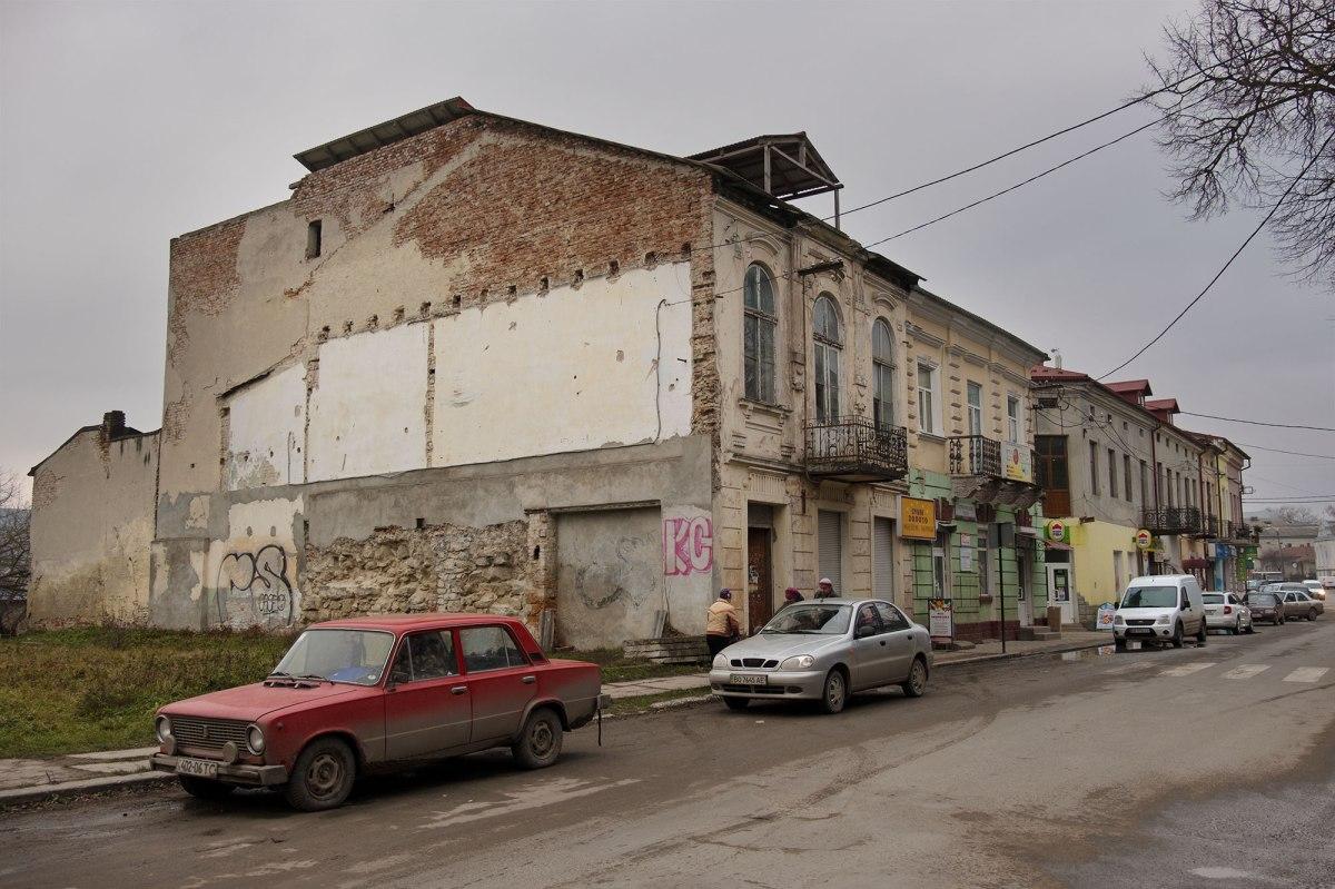 Zbarazh - former Jewish houses
