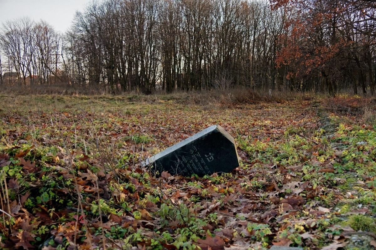 Sambir - Jewish cemetery