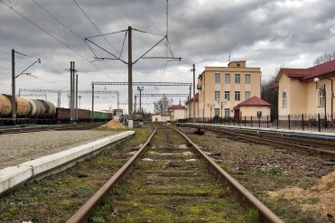 Klepariv train station