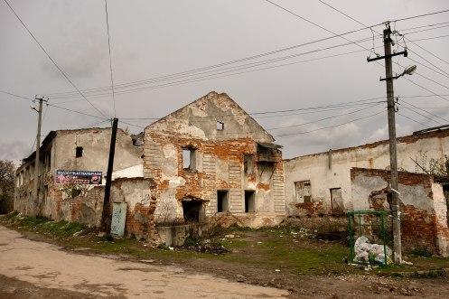 Bibrka, Galicia in Ukraine - synagogue