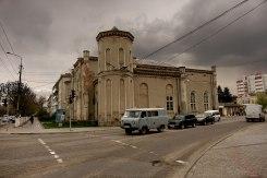 Chortkiv, Galicia in Ukraine - synagogue