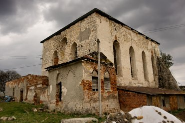 Pidhaitsi, Galicia in Ukraine - Great Synagogue