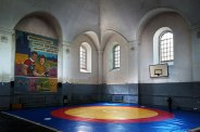Horodenka, Galicia in Ukraine - Great Synagogue, now a gym