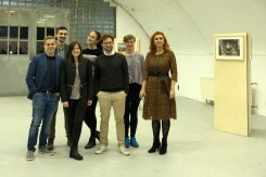 Bochum exhibition opening - the organisers team