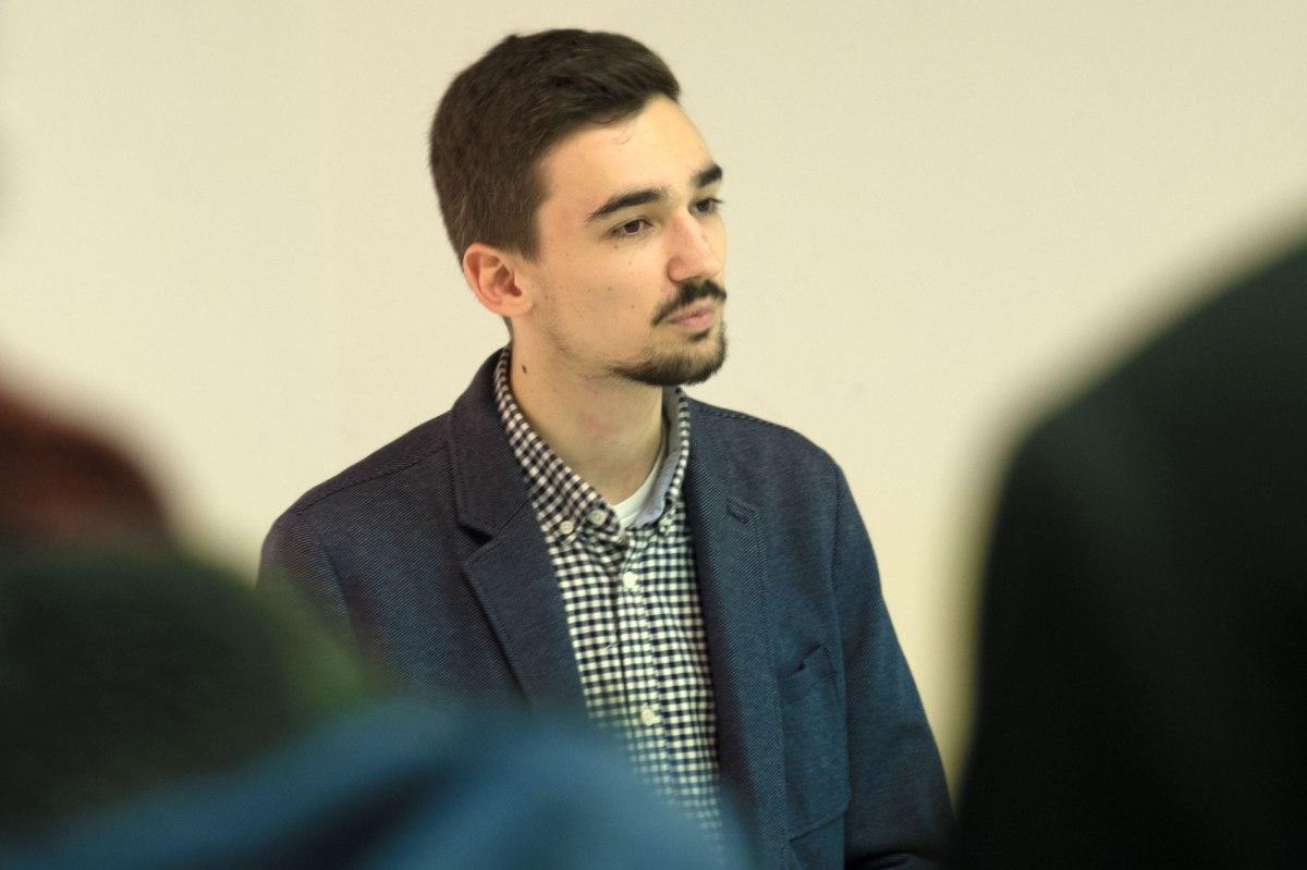 Bochum exhibition opening - Sebastian Döpp speaking
