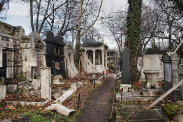 Jewish section of Kerepesi Cemetery at Salgótarjáni Street