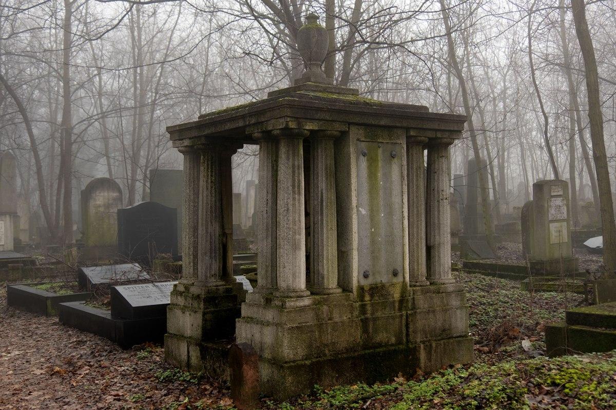 Jewish cemetery at Kozma Street