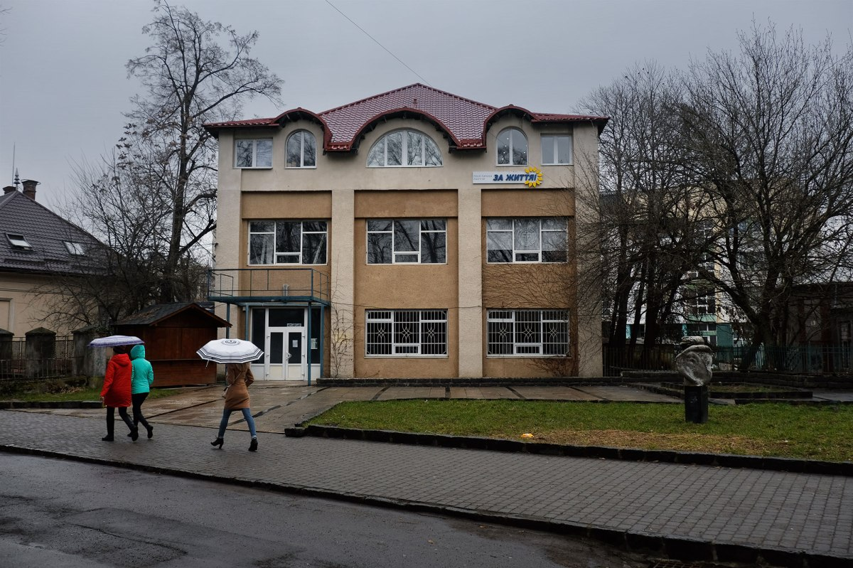Uzhhorod - former Hasidic synagogue