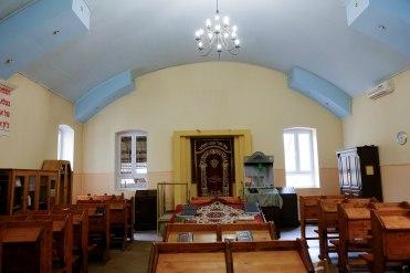 Mukachevo - Munkach Rebbe Kloyz, present active synagogue
