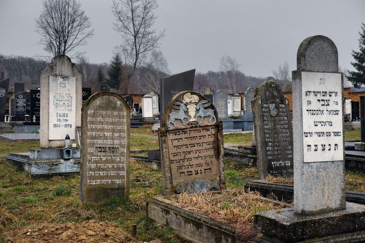 Mukachevo - new Jewish cemetery