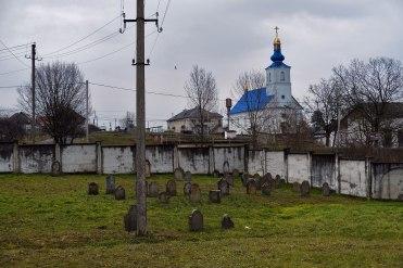Kamyanske - Jewish cemetery