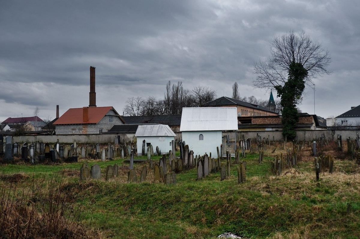 Vynohradiv - Jewish cemetery