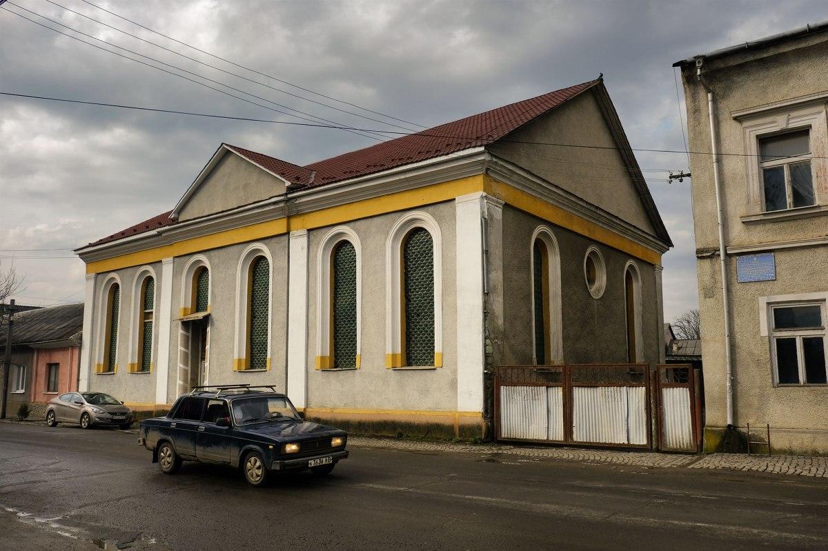 Tiachiv - synagogue