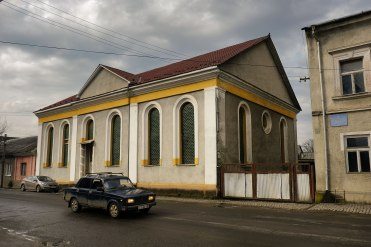 Tiachiv - synagogue