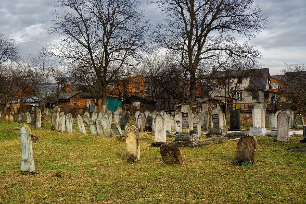 Teresva - Jewish cemetery
