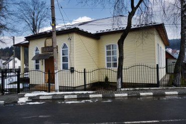 Former synagogue in Skhidnytsia