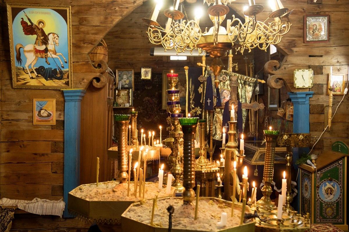 Yasynia - wooden church
