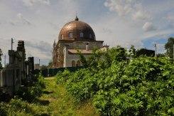 Mortuary at Chernivtsi Jewish cemetery