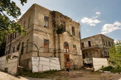 Chişinău - former Jewish hospital