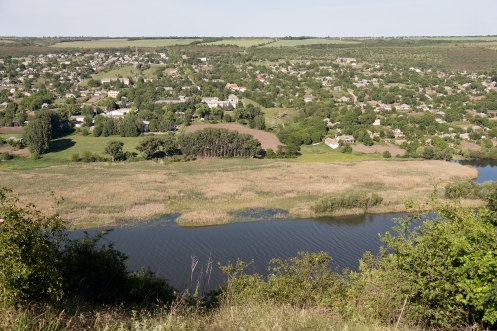 Tipova - view over Dniester river