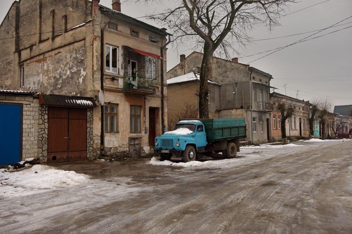 Skala-Podilska - Jewish neighbourhood