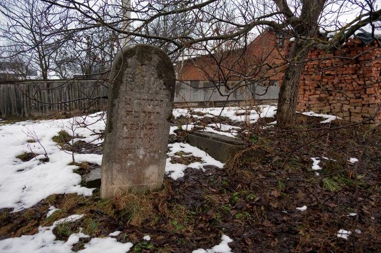 Melnytsia-Podilska - Jewish cemetery