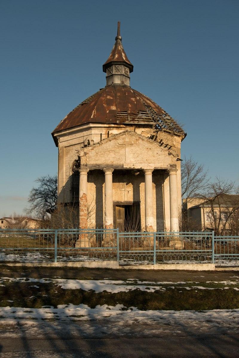 Polish Catholic church between Zalishchyky and Korolivka
