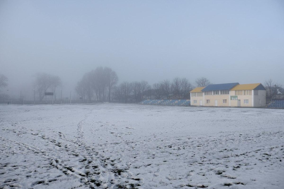 Skalat - Jewish cemetery, now a football field