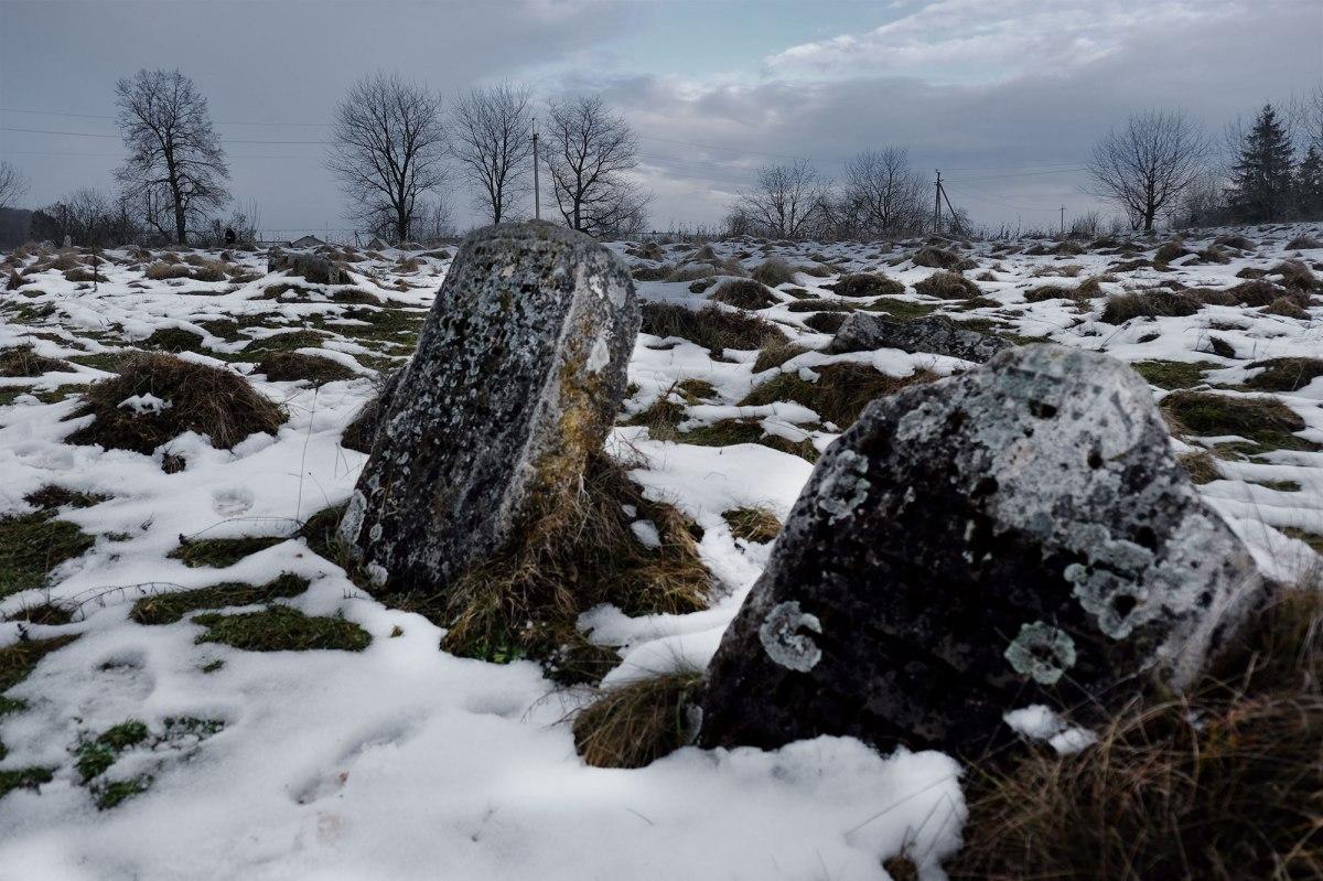 Yazlovets - Jewish cemetery