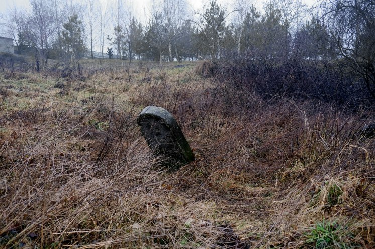 Dubno - destroyed Jewish cemetery