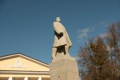Lenin is still up in Raşcov
