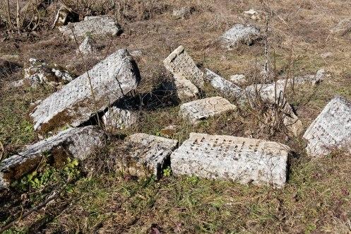 Raşcov - old Jewish cemetery