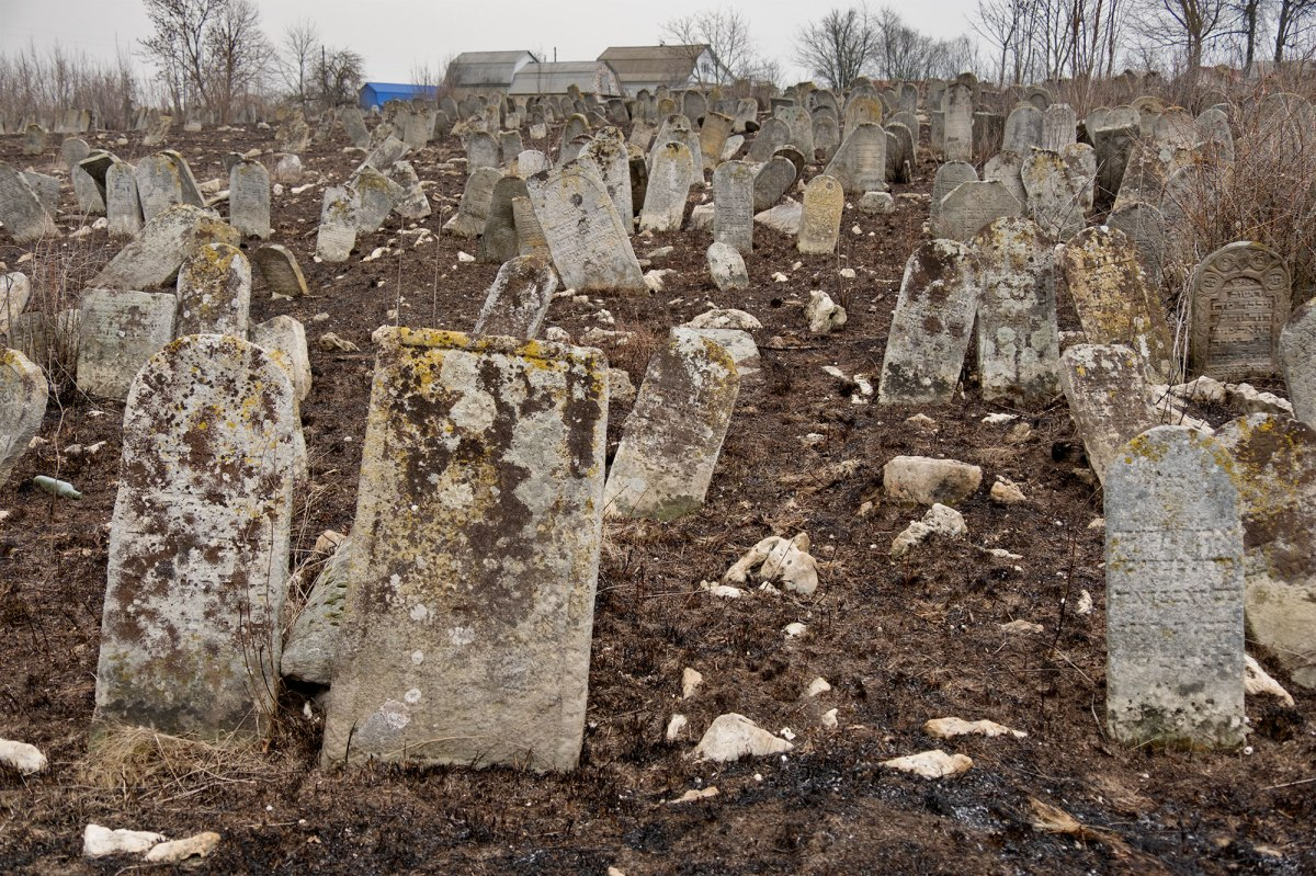 Sharhorod - New Jewish Cemetery