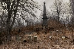 Luchynets Jewish cemetery