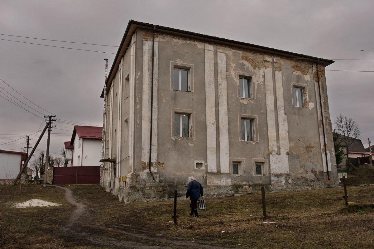 Vyshnivets - former Great synagogue
