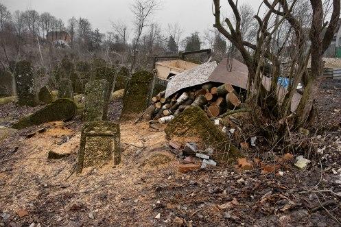 Vyshnivets - New Jewish Cemetery