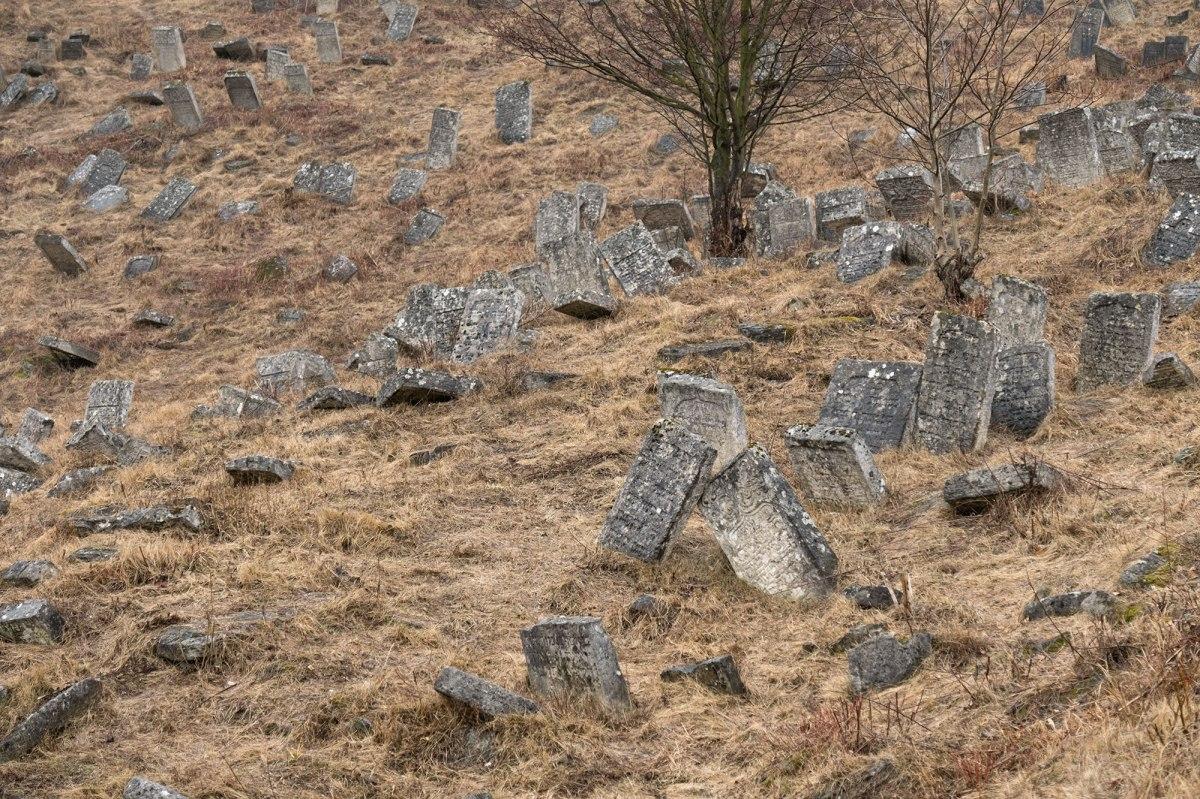 Kremenets Jewish cemetery